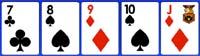 Escalera de valores en el poker